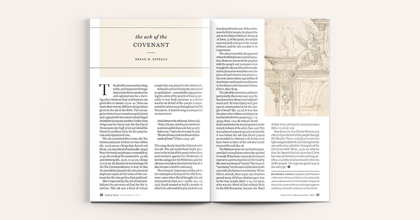 The Ark of the Covenant   Tabletalk