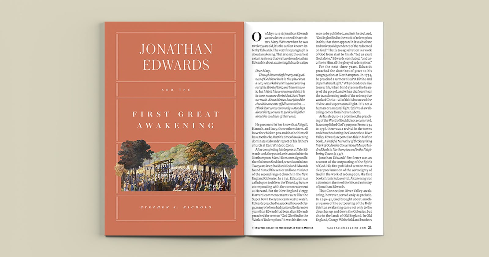 Jonathan Edwards And The First Great Awakening