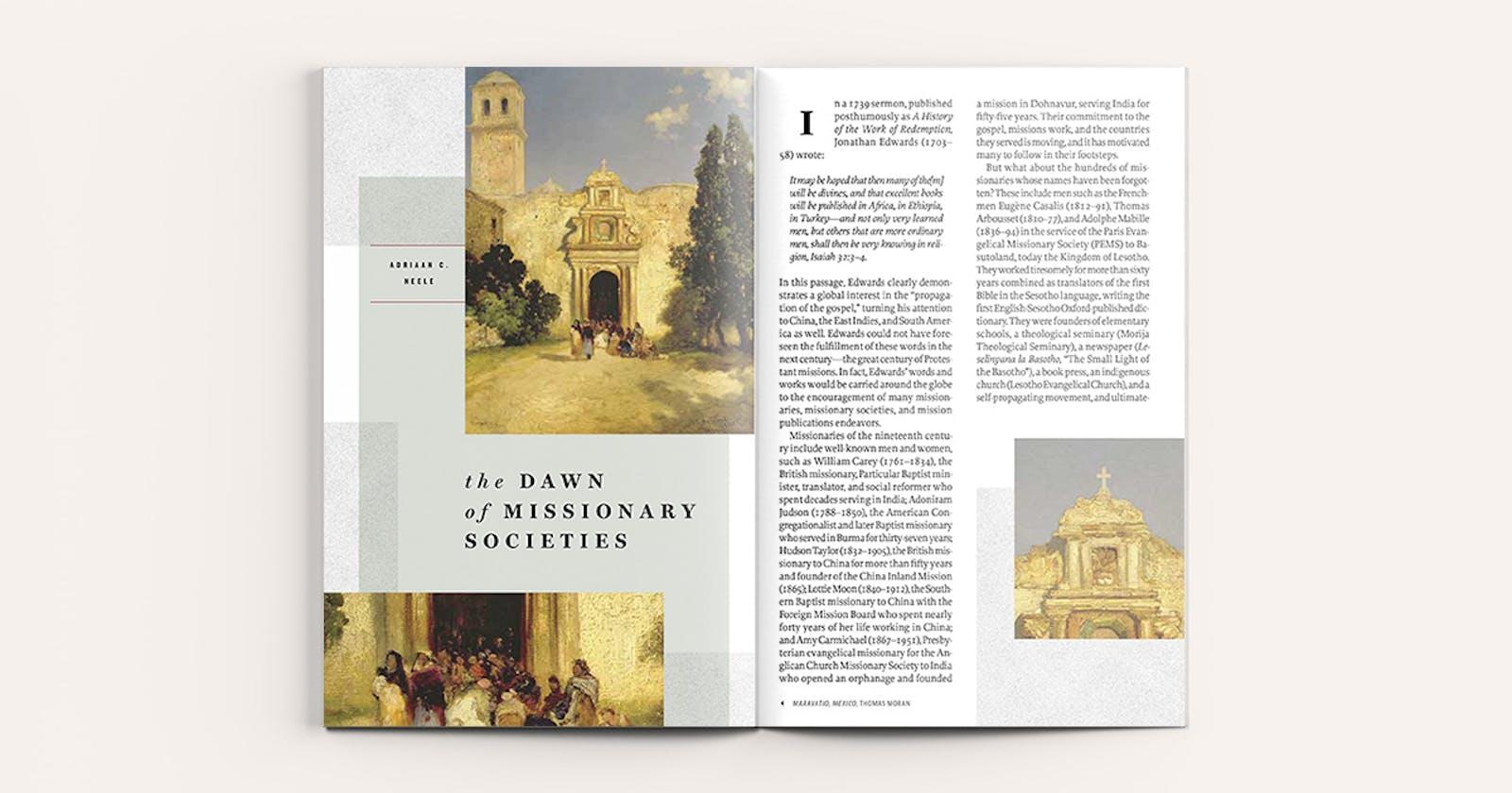 The Dawn of Missionary Societies   Tabletalk